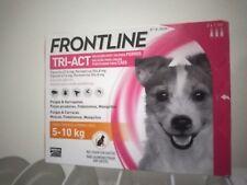 Frontline Tri-Act 3 pipettes pour chiens de petite taille de 5 a 10 kg