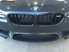 BMW F10 F11 09-16 M5 M PERFORMANCE Front Grill Kidney Black Gloss not carbon