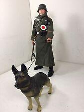 1/6 DRAGON GERMAN FELDGENDARMERIE MILITARY POLICE+DOG K-98  WW2 DID BBI 21ST