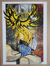 ASH at the Prince Melbourne 2004 Concert Poster Art Rhys Cooper