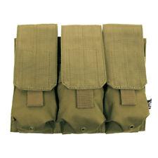 TRIPLE FUSIL M4/M16 MAGAZINE MAG POUCH MOLLE AIRSOFT MODULAIRE ARMÉE COYOTE TAN