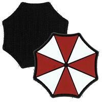 Umbrella Corp PVC Morale Patch 3D Tactical Airsoft Badge Hook #17