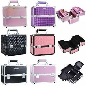 Large Makeup Vanity Case Box Cosmetic Organiser Beauty Nail Jewelry Storage Box
