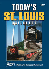 Today's St Louis Railroads DVD Pentrex Gatway Yard Arch Gratiot Tower HN Cabin