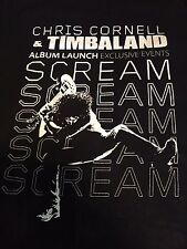 Rare Soundgarden Chris Cornell Timbaland Tour Shirt Sz L/XL Rock Metal Grunge L7