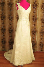 "Beautiful authentic unused ivory ""Rena Koh"" wedding gown"