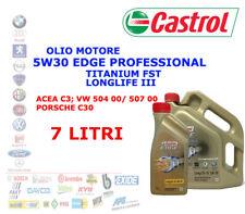 7 LT OLIO MOTORE 5W30 CASTROL EDGE PROFESSIONAL LONGLIFE 3 TITANIUM FST ACEA C3