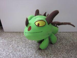 Spin Master Mini How To Train Your Dragon Green & Brown Terrible Terror Plush