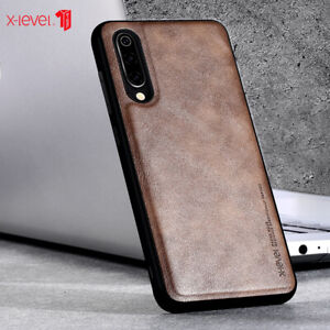 For Xiaomi10 Pro Mi9 Phone Case Back Cover Classic Leather Soft Fall prevention