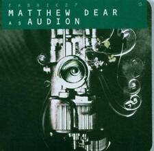 Matthew Dear As Audion - Fabric 27 (NEW CD)