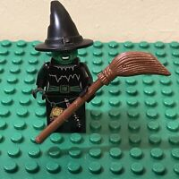 LEGO Minifigure - Witch with Broomstick - Collectable Series 2