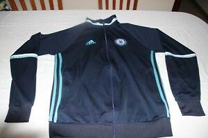Oberteil Von Trainingsanzug Der Ausrüstung Chelsea Marke Adidas Größe 180 Grande