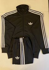 Adidas Originals ADI-Firebird Tracksuit Black White Size L