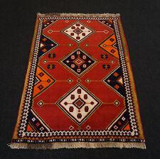 Orient Teppich Rot 164 x 111 cm Perserteppich Handgeknüpft Red Carpet Rug Tapijt