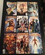 Captain Atom Armageddon Comic Lot 1 - 9 . Full Run . Wildstorm / DC Comics