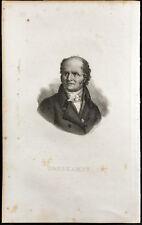 Portrait (1834) - Christophe-Philippe Oberkampf - Toile de Jouy - Gravure