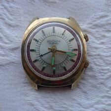 Vintage Gents Sekonda 18 Jewels Alarm Watch