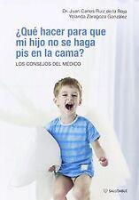 Qué hacer para que mi hijo no se haga pis en la cama. ENVÍO URGENTE (ESPAÑA)