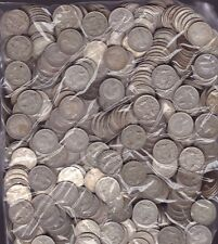 10 Coin Pack Sixpence 6p Lot Silver Coins Christmas Xmas Pudding bullion  -
