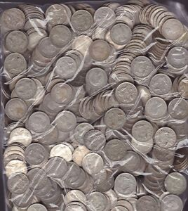 10 Coin Pack Sixpence 6p Lot Silver Coins Christmas Xmas Pudding bullion  %