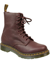 Dr. Martens señora docs pascal virginia 8 agujeros Boot Cherry Red rojo oscuro 5146