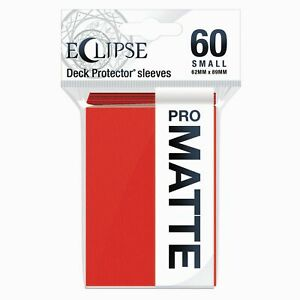 Ultra Pro Eclipse Matte Small Sleeves 60-Count Choose Your Color