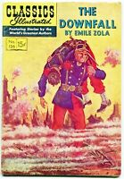 Classics Illustrated, The Downfall #126, $0.15 - 1st Ed.  FN