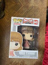 Funko Pop Pee Wee Herman Miss Yvonne #645