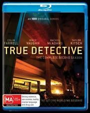 True Detective : Season 2 (Blu-ray, 2016, 3-Disc Set) NEW/SEALED