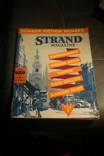 The Strand Magazine AUGUST 1937 P G WODEHOUSE MICHAEL ARLEN