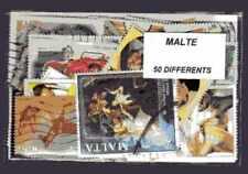 Malte - Malta 50 timbres différents