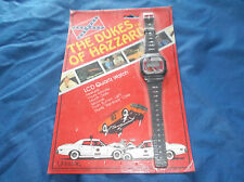 "Vintage 1981 Unisonic ""The Dukes of Hazzard"" LCD Quartz Watch MIP"