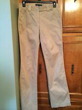 Women's THEORY Cotton Blend Khaki Pants Size 2