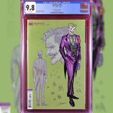 BATMAN #95 1/25 INCENTIVE JORGE JIMENEZ VARIANT COVER  CGC 9.8 JOKER PUNCHLINE