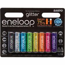 Sanyo Eneloop Glitter 8x AA 2100 mAh Nuove Sigillate!!!
