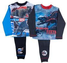 Boys Jurassic Word Park Pyjamas Tyrannosaurus Rex Or Raptor Den 3-4 to 9-10 Year