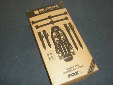 FOX Black Label completa Pod 3 Rod Kit pesca della carpa tackle
