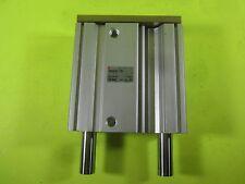 SMC Pneumatic Actuator Slide Cylinder -- MGQL32-75 -- Used