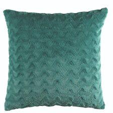 Bianca Vivid Teal Faux Fur European Pillowcase Rrp39.95