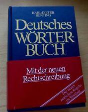 DEUTSCHES WÖRTERBUCH von Karl-Dieter Bünting