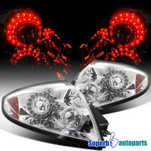 For 2006-2011 Mitsubishi Eclipse LED Tail Lights Brake Lamps Pair L+R