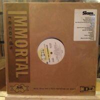 "{OST}~NM 2 DOUBLE LP~""SLAM""~[The SOUNDTRACK]~[1998 SONY PROMO]"