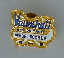 Vauxhall and District Minor Hockey Alberta Canada Lapel Souvenir Pin