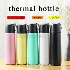 US Travel Vacuum Thermos Stainless Steel Mug Coffee Tea Flask Cup Drink Bottle
