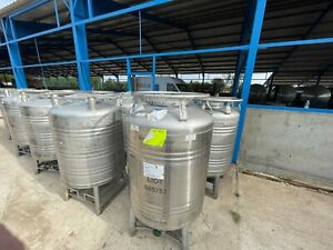 1000 Litre stainless steel tank for food storage