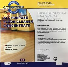 CATERPOWER - All Purpose Floor Cleaner Concentrate - (1x5 Litres)