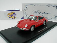 "Autocult Masterpiece 90074 # PORSCHE 901 Karmann Cabrio Bj. 1964 in "" rot "" 1:43"