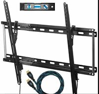 TV Wall Mount Slim Thin Flat Bracket for 32 to 65 Inch TVs LED, LCD and Plasma
