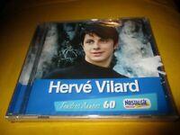 """CD NEUF """"HERVE VILARD : TENDRES ANNEES 60"""""""
