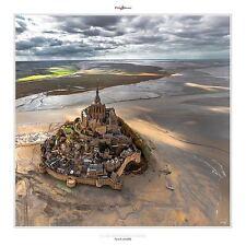 MONT SAINT MICHEL PHOTOGRAPH ART PRINT BY PHILIP PLISSON Normandy France poster